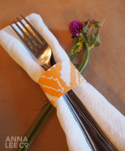 Paper Roll Napkin Ring